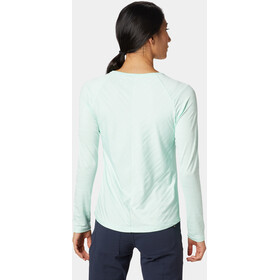 Mountain Hardwear Mighty Stripe T-shirt à manches longues Femme, pristine